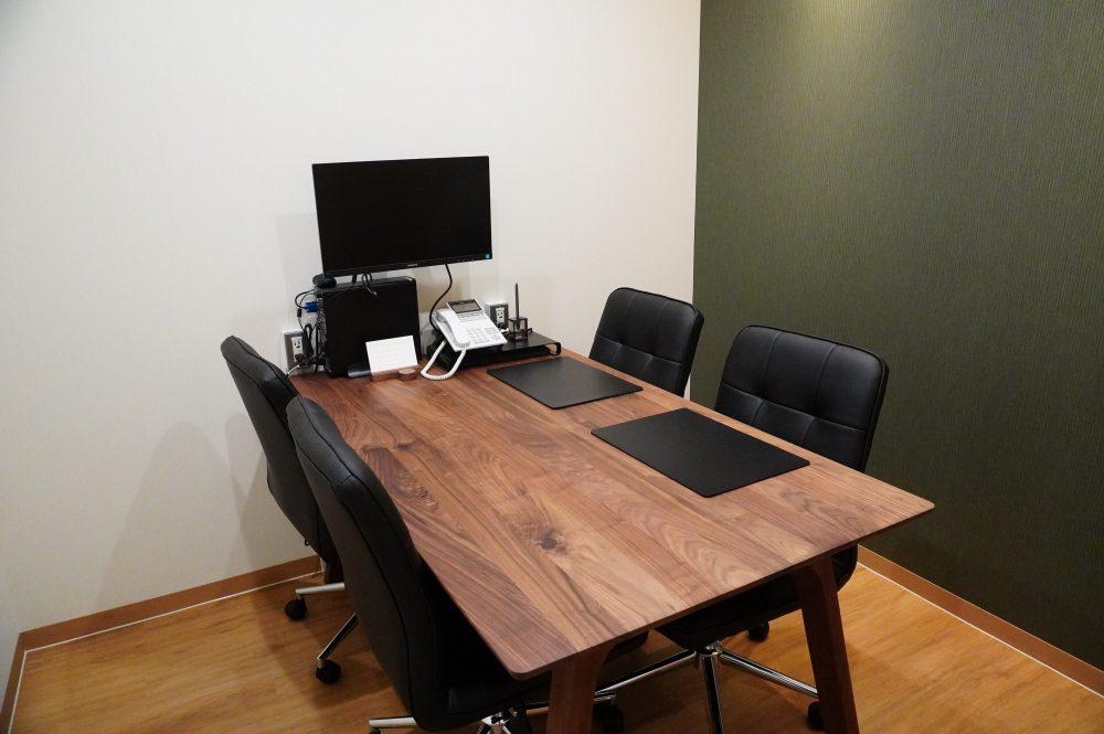 完全個室の無料相談室